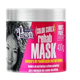 Máscara de Reabilitação Soul Power Color Curls Rehab Mask 400g