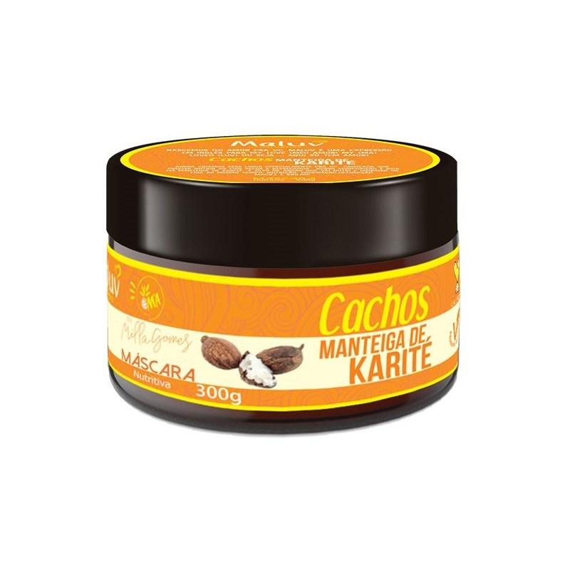 Máscara de Tratamento By Milla Gomes 300 gr Manteiga de Karité