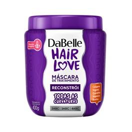 Máscara de Tratamento Dabelle Hair Love 400 gr Reconstrói