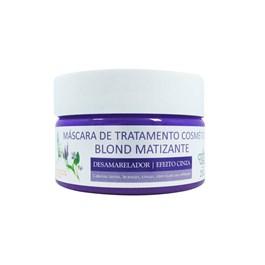 Máscara de Tratamento Flores & Vegetais Blond Matizante 250 gr Desamarelador Efeito Cinza