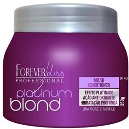 Máscara de Tratamento Forever Liss 250 gr Platinum Blond