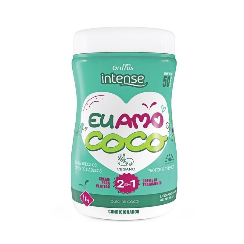 Máscara de Tratamento Griffus Intense 1 kg Óleo de Coco