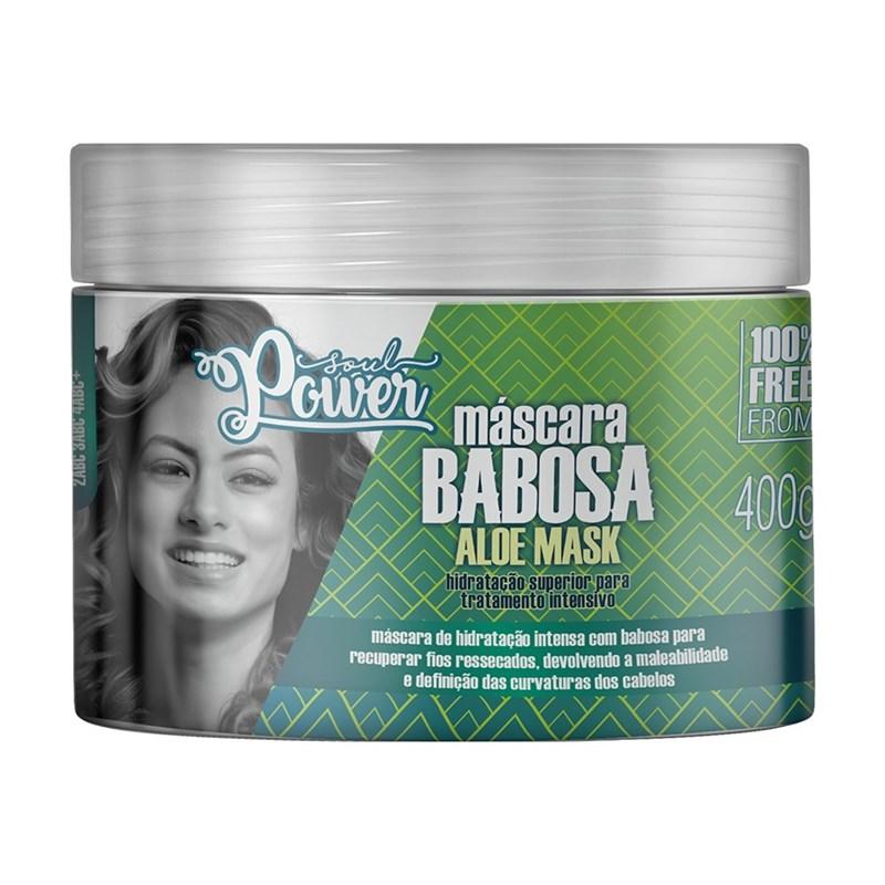 Máscara de Tratamento Intensivo Soul Power 400 gr Babosa Aloe Mask