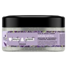 Mascara de Tratamento Love Beauty & Planet 200 gr Oleo de Argan & Lavanda