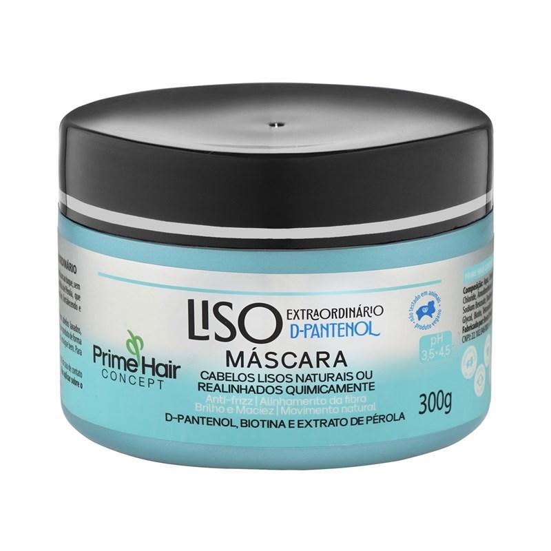 Máscara de Tratamento Prime Hair Concept 300 gr Liso Extraordinário