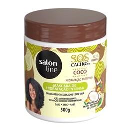 Mascara de Tratamento Salon Line S.O.S Cachos 500 gr Coco