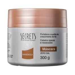 Máscara de Tratamento Secrets 300 gr Mandioca