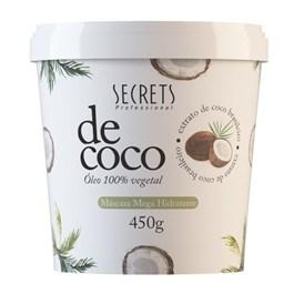 Máscara de Tratamento Secrets 450 gr Coco