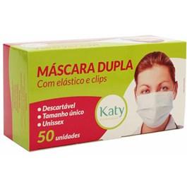 Máscara Descártavel Katy com Elástico | Com 50 Unidades
