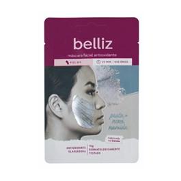 Máscara Facial Belliz 10 gr Antioxidante