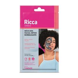 Máscara Facial Borbulhante Ricca 1 unidade Cítrico