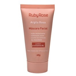 Máscara Facial Ruby Rose 60 gr Argila Rosa