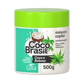 Máscara Gota Dourada Coco Brasil 500 gr Coco e Babosa