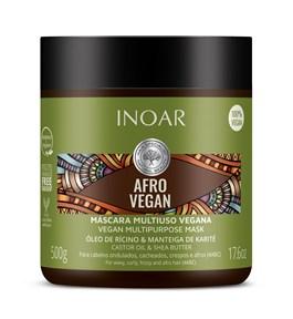 Máscara Hidratante Inoar Afro Vegan 500 gr