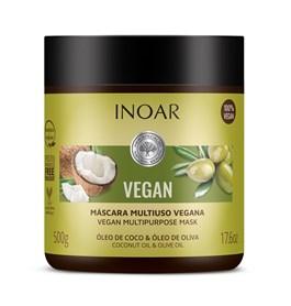 Máscara Hidratante Inoar Vegan 500 gr
