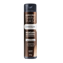 Máscara Matizadora Keraton Shine Mask 300 gr Chocolate