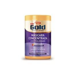 Máscara Niely Gold Concentrada 1 kg Liso Prolongado