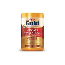 Máscara Niely Gold Concentrada 1 kg Queratina Reparação