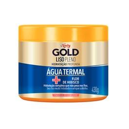 Máscara Niely Gold Concentrada 430 gr Liso Prolongado