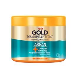 Máscara Niely Gold Concentrada 430 gr Óleo de Argan Pós Química