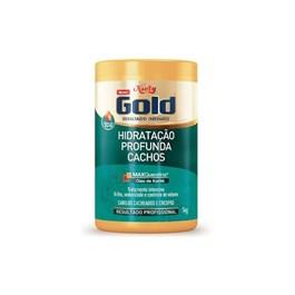 Máscara Niely Gold Hidratação Profunda 1 kg Cachos