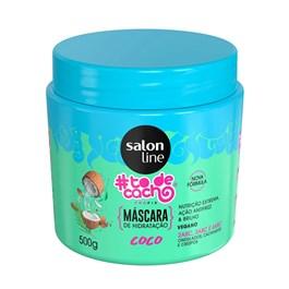 Máscara para Hidratação Salon Line #todecacho 500 g Meu Pudinzinho Coco