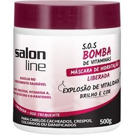 Máscara Salon Line S.O.S Bomba 500 gr Explosão de Revitalização