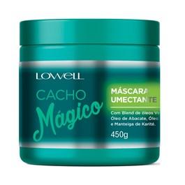 Máscara Umectante Lowell Cacho Mágico 450 gr Blend de Óleos