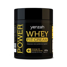 Máscara Yenzah Whey Fit Cream 480 gr