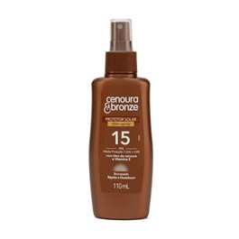 Oléo Bronzeador Cenoura & Bronze FPS 15 110 ml Spray