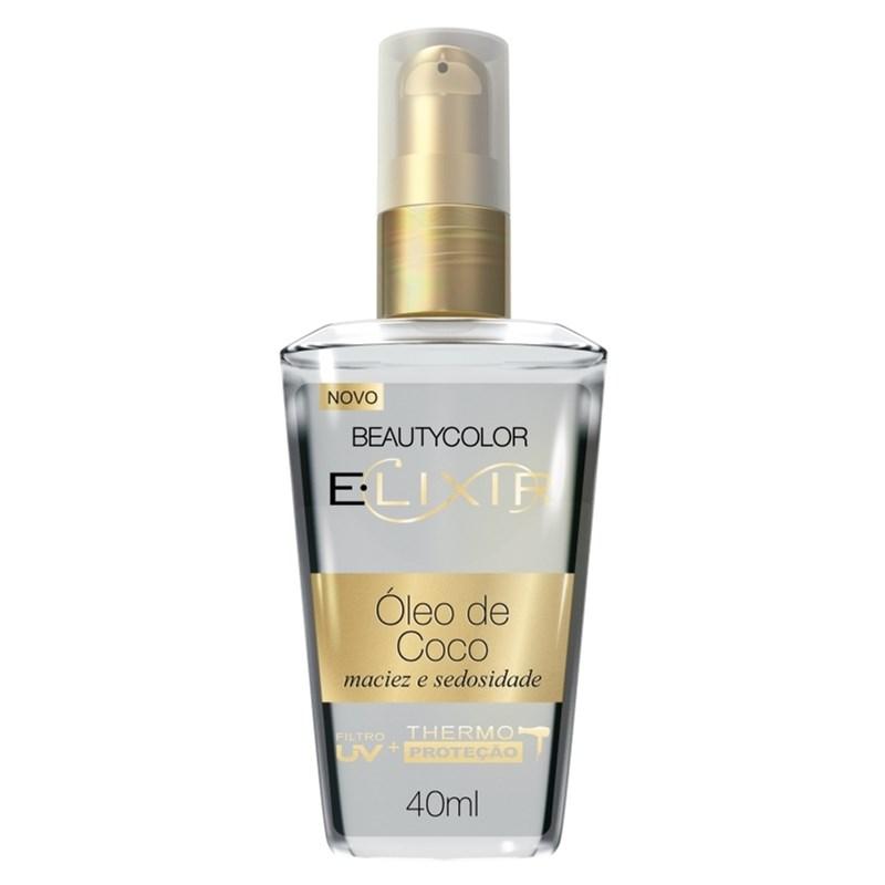 Óleo Capilar Beauty Color Elixir 40 ml Óleo de Coco