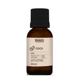 Óleo Capilar e Corporal Farmax 30 ml Coco Puro