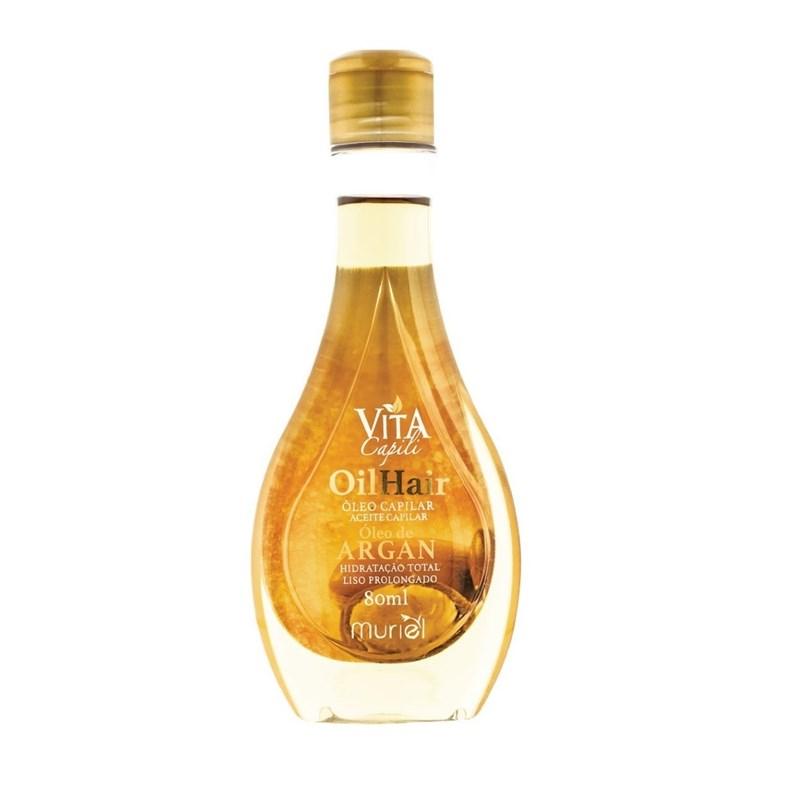 Óleo Capilar Muriel Vita Capili 80 ml Óleo de Argan