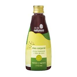 Óleo Corporal Cia da Natureza 110 ml Rícino + Óleo de Coco