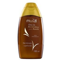 Óleo Corporal Muriel 100 ml Amêndoa com Avelã