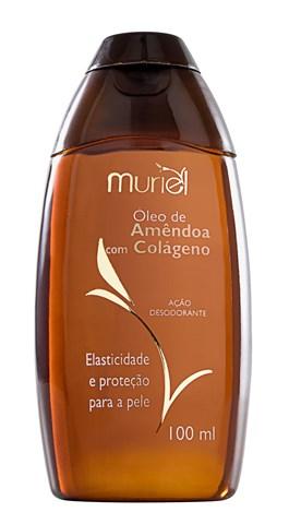 Óleo Corporal Muriel 100 ml Amêndoa com Colágeno