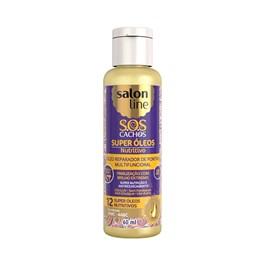 Óleo Reparador de Pontas Salon Line S.O.S CACHOS Super Óleos 60 ml Nutritivo