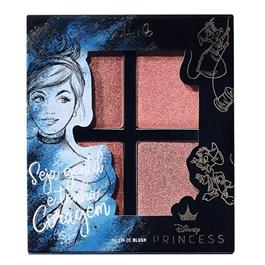Paleta de Blush Vult Disney Seja Gentil e Tenha Coragem Cinderela