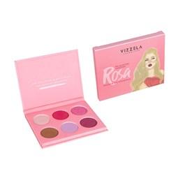 Paleta de Sombras Vizzela Às Quartas Usamos Rosa