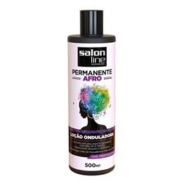 Permanente Afro Salon Line 500 ml Loção Onduladora