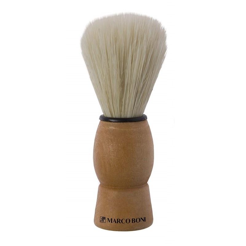 Pincel de Barba Marco Boni Madeira Grande