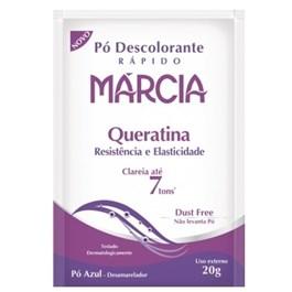 Pó Descolorante Márcia 20 gr Queratina