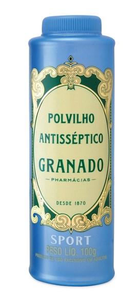 Polvilho Anti-Séptico Granado 100 gr Sport