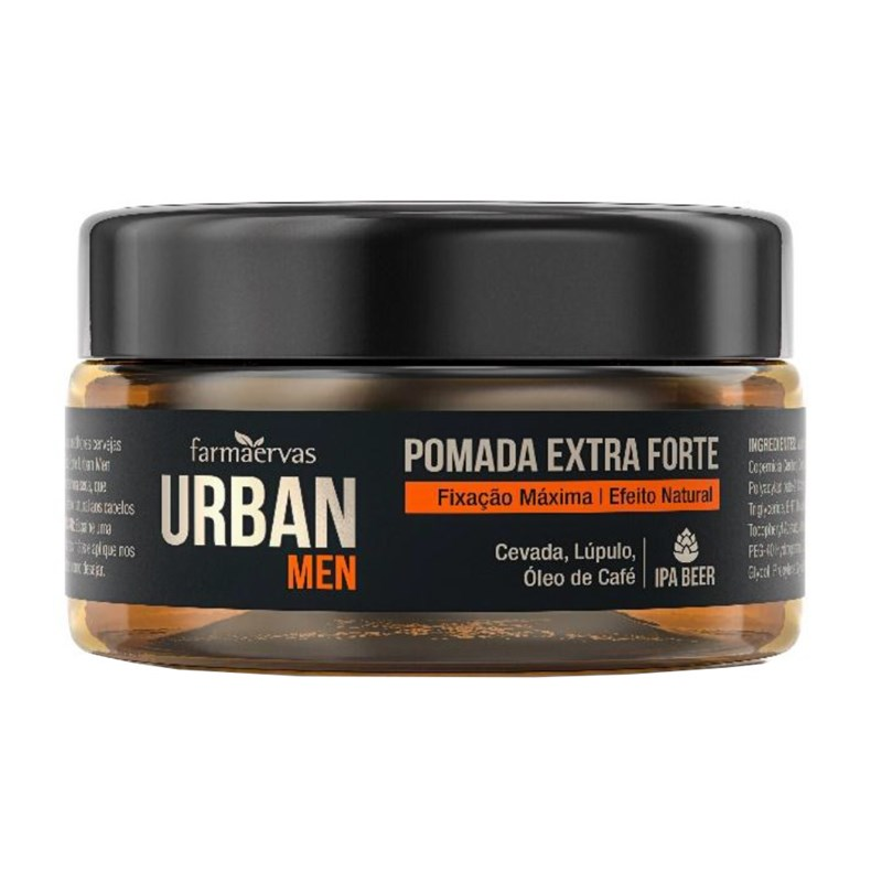 Pomada Extra Forte Urban Men 50 gr Efeito Natural