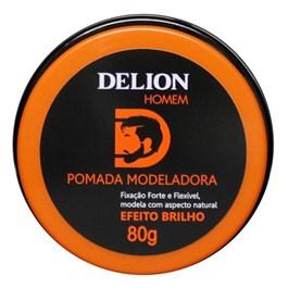 Pomada Modeladora Delion 80 gr Efeito Brilho