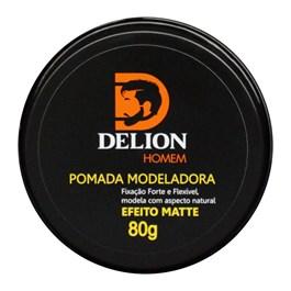 Pomada Modeladora Delion 80 gr Efeito Matte