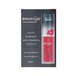 Power Lips Tracta Vermelho