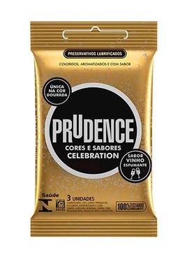 Preservativo Prudence Cores e Sabores Celebration 3 unidades