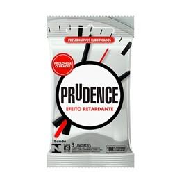 Preservativo Prudence Efeito Retardante 3 unidades