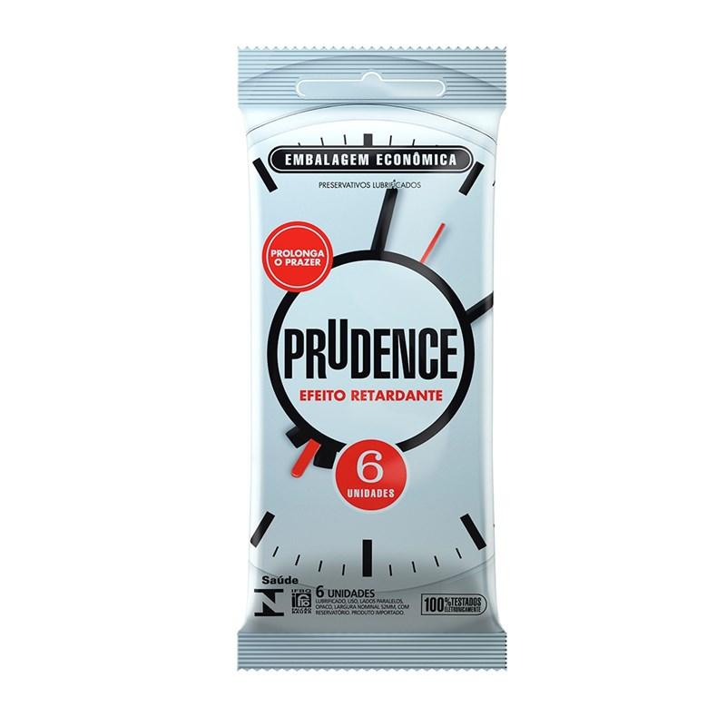 Preservativo Prudence Efeito Retardante 6 unidades